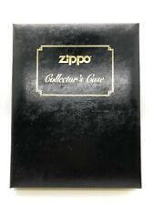 ZIPPO Book Style Collector Case for 12 Lighters Felt Lined NEW & UNUSED