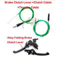 Green Clutch Cable Brake Lever For CRF50 SSR KLX 110cc 125cc 150cc Pit Dirt Bike