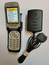New Motorola i920 IDEN Nextel Direct Connect Bleep Flip Cellphone Phone