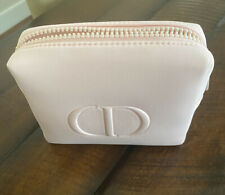 New authentic New DIOR Pale Pink Cosmetic Makeup Case Pouch Bag 2020