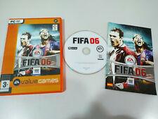 Fifa 06 EA Sports Ronaldinho - Juego para PC DVD-Rom España Edicion