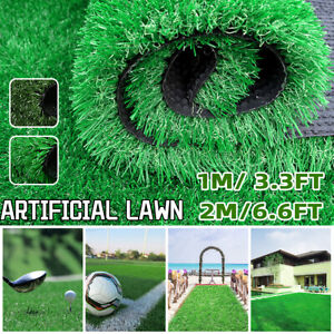 Artificial Turf Lawn Synthetic Grass Indoor Outdoor Landscape Golf Decor