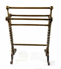 """Elegant vintage quilt rack. Bombay Company with spindle legs. Extra tall at 42"""""""