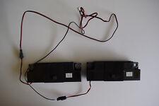 Toshiba 49U5766DB Pair Speakers 8 Ohm 12.5 Watt 30097494 with Housings & Leads