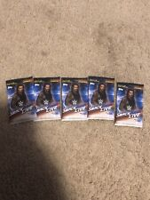 2019 TOPPS WWE SMACKDOWN LIVE LOT OF 5 SEALED PACKS OF CARDS
