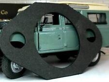 Land Rover Serie 2 2a 3 Kupplung /& Bremspedal Dose Schott Edelstahl Passend Satz