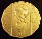 1995 AUSTRALIAN CIRCULATED WEARY DUNLOP 50 CENT COIN