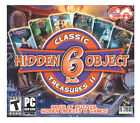 Classic Treasures Ii Hidden Object Games (pc Dvd), 6 Pack Computer Game