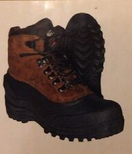 Men's Itasca  Winter Leather Thinsulate Ice Breaker Boots Brown 9,10,11,12,14