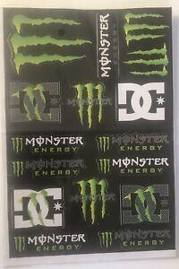 Stickers For Monster,M,Energy,Drink,DG, MotoGP,MotoX,Motorcycle,Racing #f