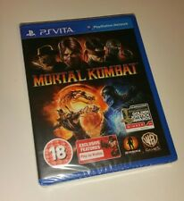 Mortal Kombat Complete Edition PS Vita New Sealed UK PAL PlayStation PSV LAST 1