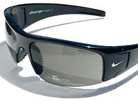 NEW* NIKE DIVERGE in Black Polished w Gray Lens Sports Wrap Sunglass EVo325 002