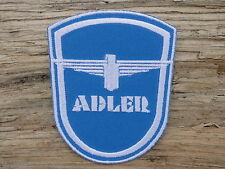 A186 ECUSSON PATCH THERMOCOLLANT aufnaher toppa ADLER automobile moto tricycle