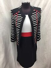 Sandra Darren Dress And Jacket /NEW WITH TAG/RETAIL$159/SIZE 16W/NOT LINED/40""