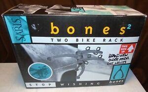 BRAND NEW Saris Bones 2-Bike Car Trunk Rack #805 Bicycle Lot NEW23 OLDER MODEL