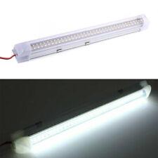 4PCS 12V 72 LED Strip Light Tube Bar Hard Rigid Lamp White For Car Caravan Home