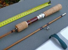 Lancer léger Canne à Pêche Bambou Refendu  Spinning Bamboo rod fishing Cane lure