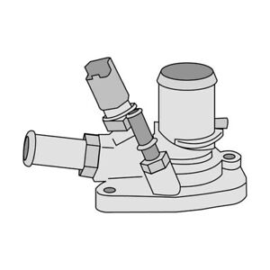 THERMOSTAT FOR FIAT 500 C 1.4 312 (2009-2017)