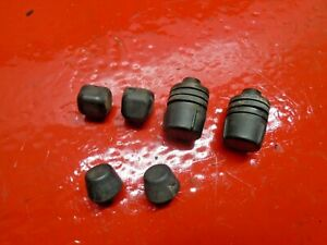 94-01 ACURA INTEGRA REAR TRUNK HATCH LID RUBBER CUSHIONS DAMPERS BUMPER LEVEL X6