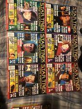 19 Star Trek The Magazie Lot From 1999 Thru 2000s