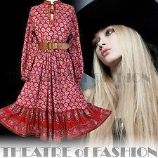 Vintage Indian robe veste gilet 70 S 8 10 12 14 16 18 Hippy Boho Mariage