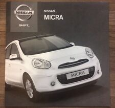 Nissan Micra 2013 Gamme spécifications techniques voiture brochure TEKNA elle ACENTA