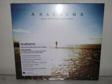 CD + DVD ANATHEMA - WE' RE HERE BECAUSE WE' RE HERE - NEW