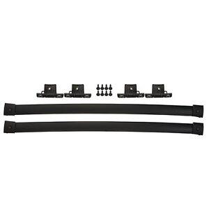 OEM NEW Roof Rack Cross Bars Kit Black 07-15 Ford Edge Lincoln MKX 7T4Z7855100BA