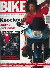 Bike October 1993 BMW R1100RS, Gilera Nordwest, Kevin Schwantz MZ500 NSR125