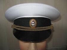 Casquette D'OFFICIER Marine Navale RUSSIE URSS T.59