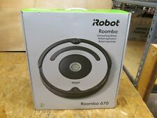iRobot - Roomba 670 Vacuum Cleaning Robot ( LOT 1255)
