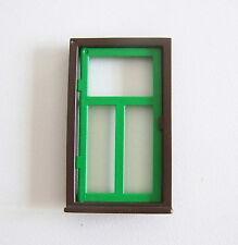 PLAYMOBIL (T2143) FERME - Encadrement Fenêtre Marron & Fenêtre Verte 3716