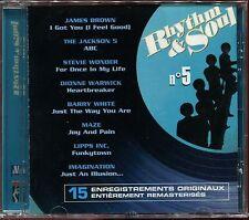 RHYTHM & SOUL - N°5 - MOTOWN - CD COMPILATION NEUF SOUS CELLO