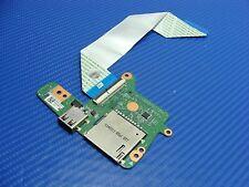 """HP Chromebook 14-q020nr 14"""" Genuine USB Card Reader Board w/Ribbon DA0Y01TB4C0"""