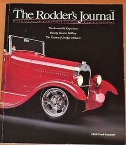 The Rodder's Journal Issue No. 7, Fall 1997, 1929 Ford Roadster