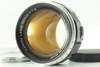 [NEAR MINT] Canon 50mm f/1.2 Lens LTM L39 Leica Screw Mount w/ Filter from JAPAN