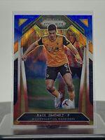 2020-21 Panini Prizm Premier League Raul Jimenez Red White And Blue Wolves #149