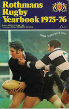 1975/76 Rothman's Rugby Union Yearbook - hardback very good 1975 - 1976