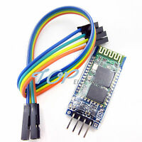 Wireless Serial 4 Pin Bluetooth RF Transceiver  HC-06 RS232 With backplane M8