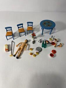 Lot Vntg Lundby of Sweden  Dollhouse Furniture