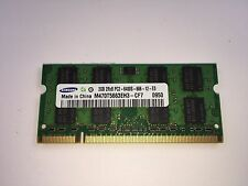 Samsung M470T5663EH3-CF7 2GB PC2-6400 SO-DIMM 800 MHz DDR2 SDRAM Memory TESTED!