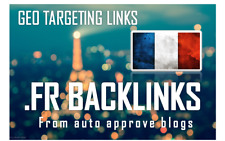 150 Backlinks On French Fr Blog Domains