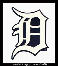 DETROIT TIGERS BASEBALL MLB INDOOR DECAL STICKER TEAM LOGO~BUY 1 GET 1 30% OFF