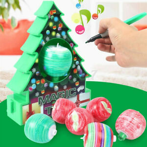 Christmas Tree Decorating Kit--Holiday DIY Toy-3 Ornaments Decor Treemendous