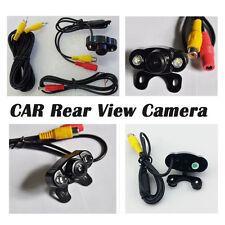 New Car Reverse Parking Backup Camera Waterproof Vehicle Color Rear View Kit RCA