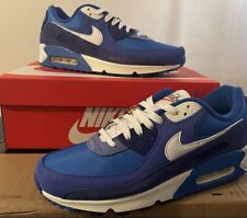 New listing Nike Air Max 90 (Fist Use Signal Blue)Size: 10.5 (M) 12(W)DS