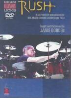 RUSH LEGENDARY LICKS FOR DRUMS NEW DVD