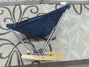 REI EVRGRN Camping Rocker Chair Packable lightweight Seat