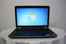 """Laptop Dell Latitude E6220 12.5"""" Core i5 4 GB 320 GB Windows 7 Cámara Web Nueva Batería"""