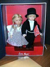 """13"""" Kathe Kruse Millenio & Millenia Hand in Hand Millennium Limited Doll Set"""